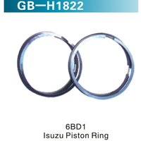 6BD1  LSUZU PISTON RING