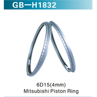 6D15(4mm) Mitsubishi Piston Ring