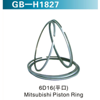 6D16 (平口)  Mitsubishi Piston Ring