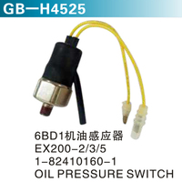 6BD1机油感应器 EX200-2 3 5 1-82410160-1 OIL PRESSURE SWITCH